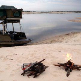 Chobe houseboat safari